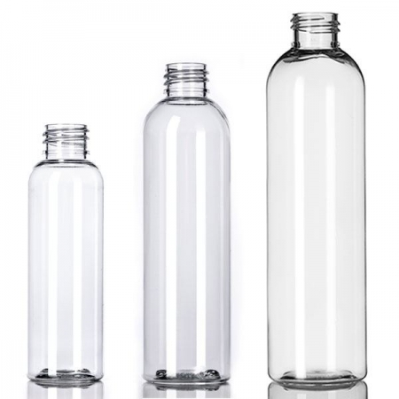Clear PET Imperial Round Bottles