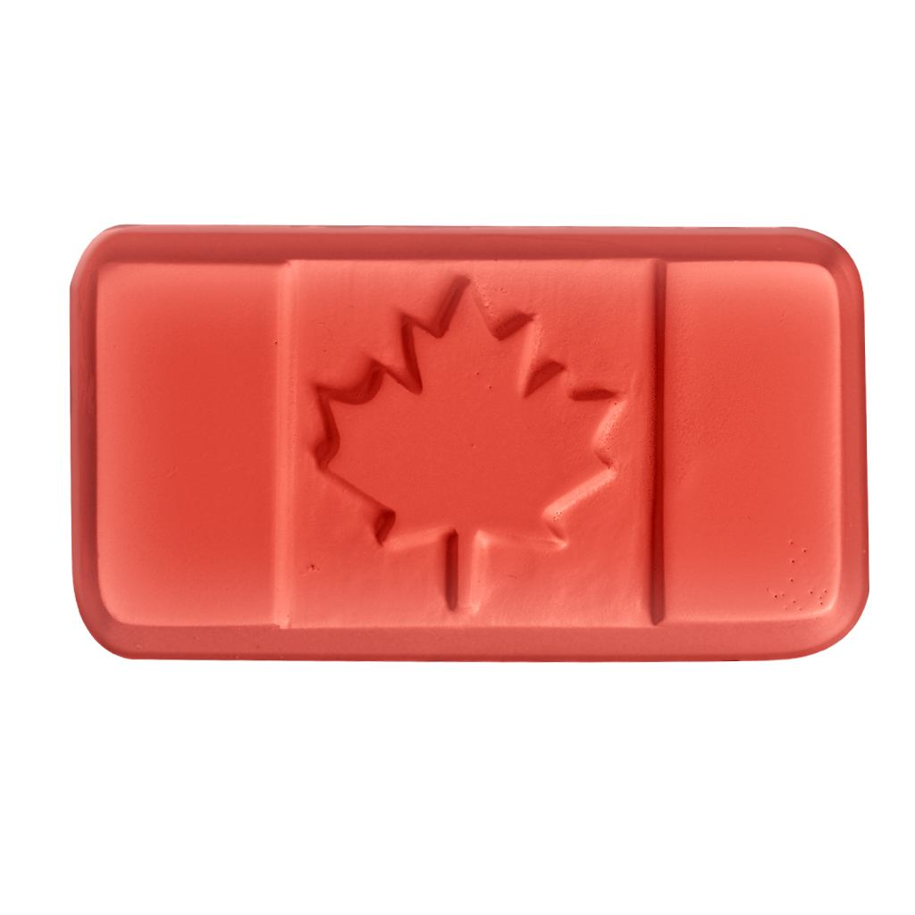 Canadian Flag Soap Mold