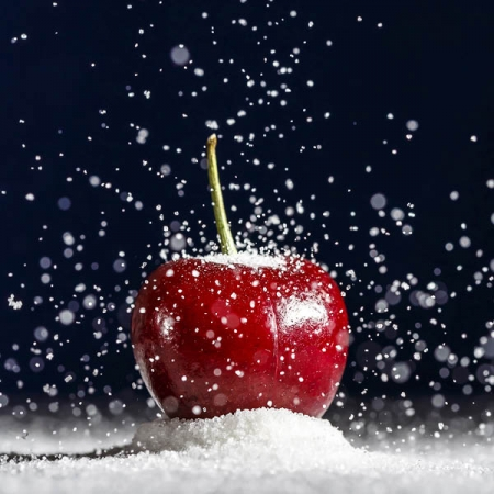 Snow Cherries Fragrance Oil